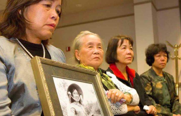 Dang Thuy Tram's family