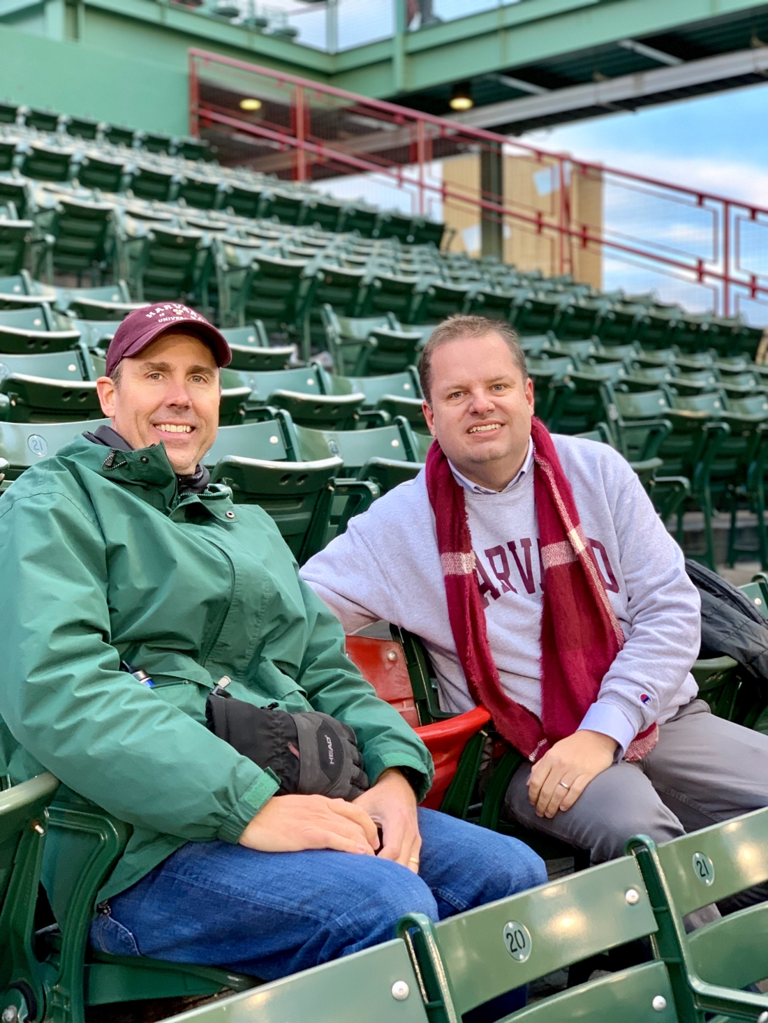Fenway Park Red Seat