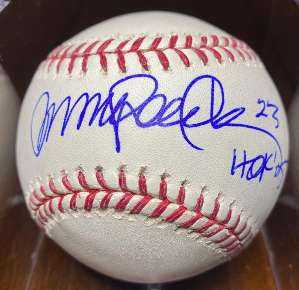 Ryne Sandberg single signed autographed baseball