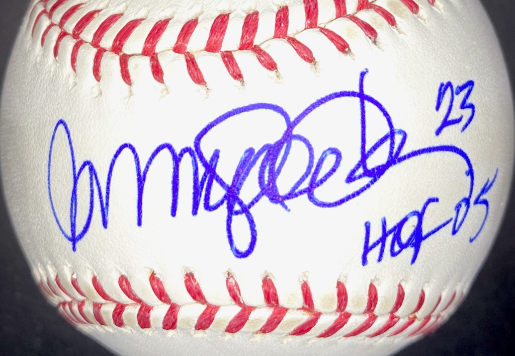 Ryne Sandberg single signed autographed baseball
